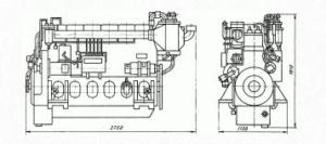 Дизель 211Д-3М применяемый на тепловозах ТГМ 4Б